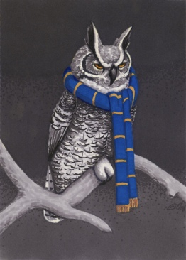 2013 Ravenclaws Great Horned Owl