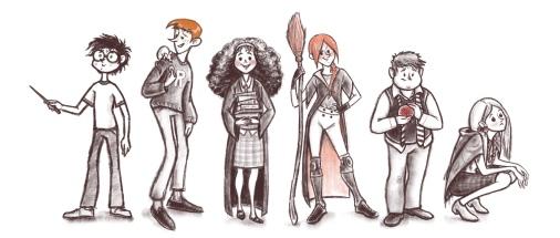 2018 HP Characters